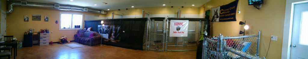 Canine Case Squad Facility Interior Panoramic View